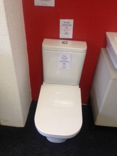 Ex Display Roca Gap Close Coupled Wc And Seat
